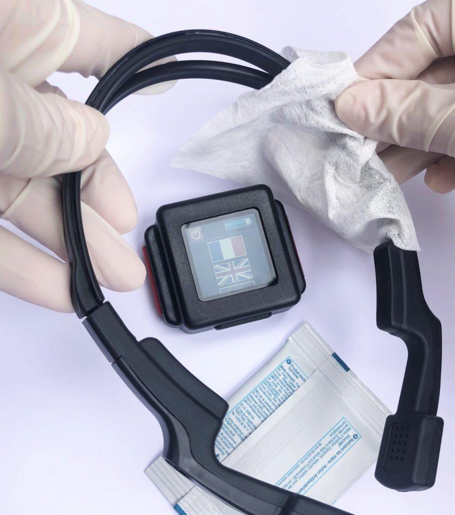 Freesound casque hygienique nettoyage desinfection
